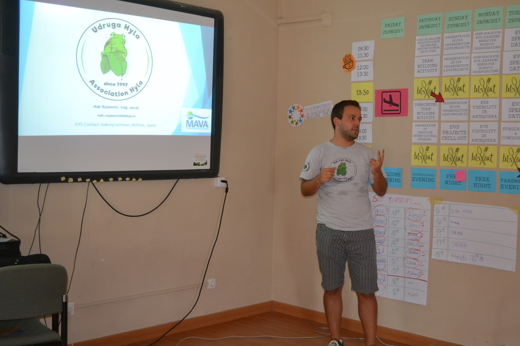 EVS prezentacija